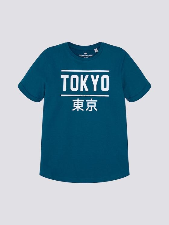 T-shirt met print - Jongens - kids ink blue - 7 - Tom Tailor E-Shop Kollektion