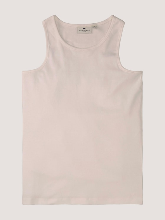 Basic Tanktop - Mädchen - kids cloud dancer white - 7 - Tom Tailor E-Shop Kollektion