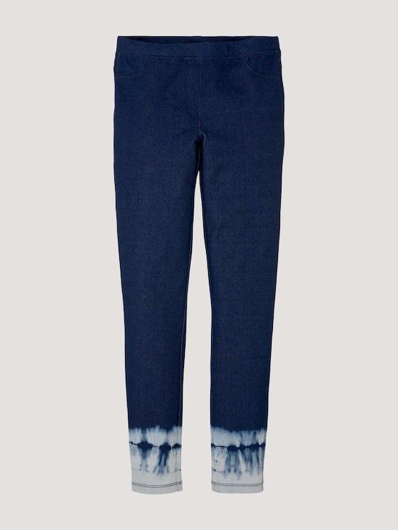 Leggings mit Farbverlauf - Mädchen - kids blue denim - 7 - Tom Tailor E-Shop Kollektion