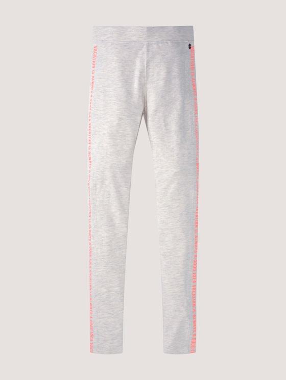 Leggings in Melange-Optik - Mädchen - kids offwhite melange - 7 - Tom Tailor E-Shop Kollektion