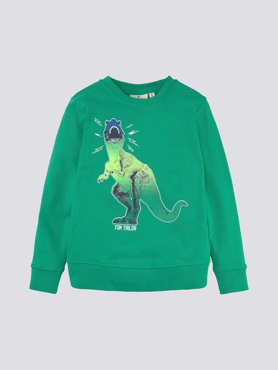 Sweatshirt mit Print - Jungen - kids holly green - 7 - Tom Tailor E-Shop Kollektion