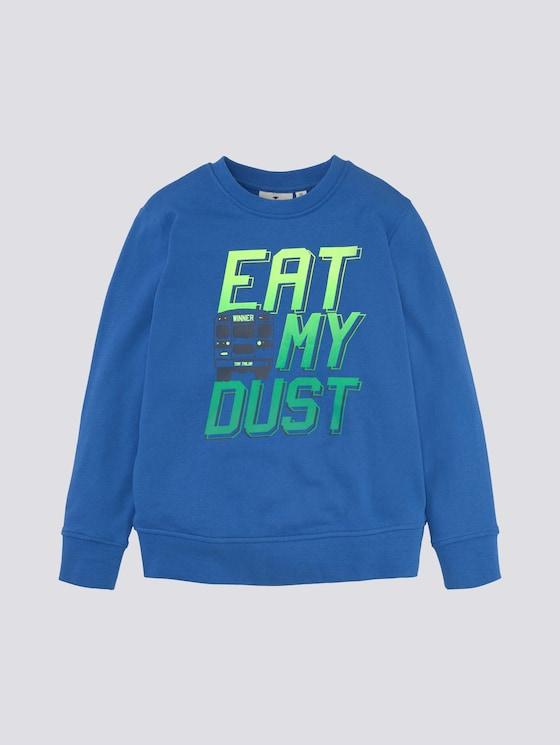 Sweater met print - Jongens - kids nebulas blue - 7 - Tom Tailor E-Shop Kollektion