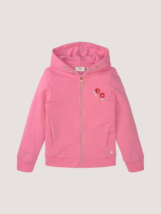 Sweatjacke - Mädchen - kids sachet pink - 7 - Tom Tailor E-Shop Kollektion
