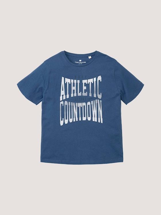 T-Shirt mit sportlichem Print - Jungen - kids true navy - 7 - Tom Tailor E-Shop Kollektion