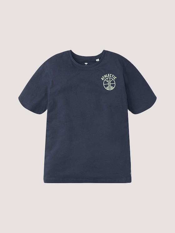 T-Shirt mit Print - Jungen - kids dress blue - 7 - Tom Tailor E-Shop Kollektion
