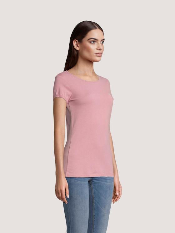 T_Shirt aus Bio-Baumwolle - Frauen - cozy rose - 5 - TOM TAILOR Denim