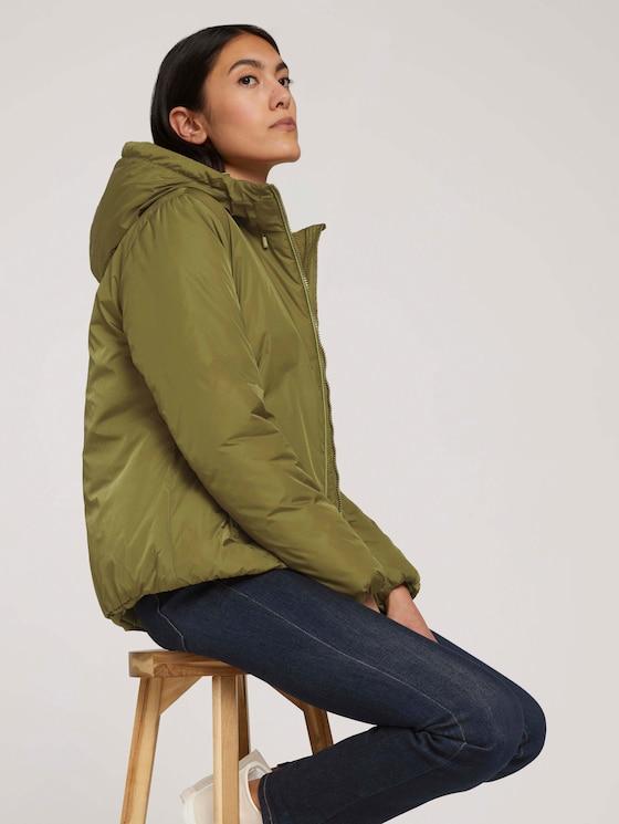 Lightweight raincoat - Women - wooden moss green - 5 - TOM TAILOR