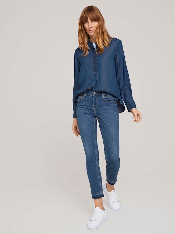 Alexa Slim Jeans - Frauen - light stone wash denim - 3 - TOM TAILOR