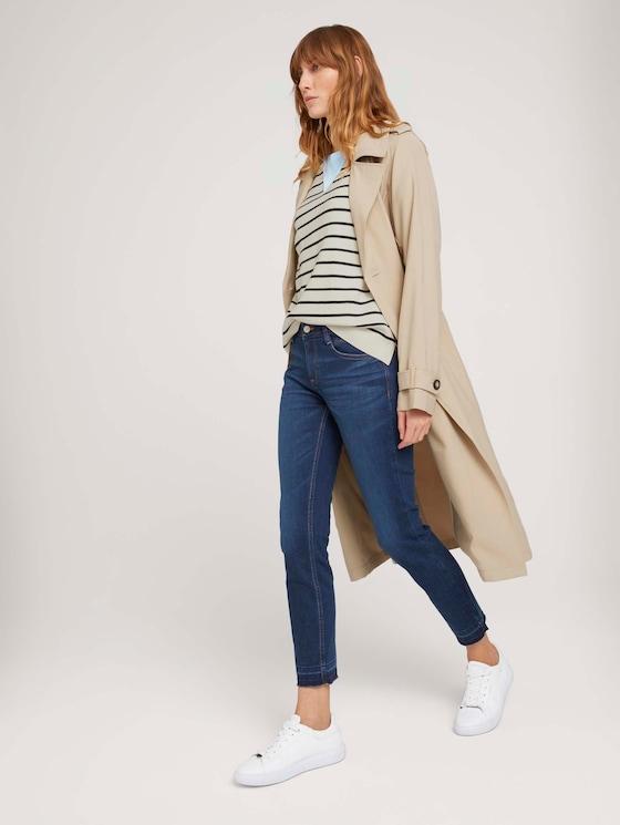 Alexa Slim Jeans aus Bio-Baumwolle - Frauen - mid stone wash denim - 3 - TOM TAILOR