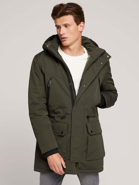 Parka winter jacket - Men - Woodland Green - 5 - TOM TAILOR Denim