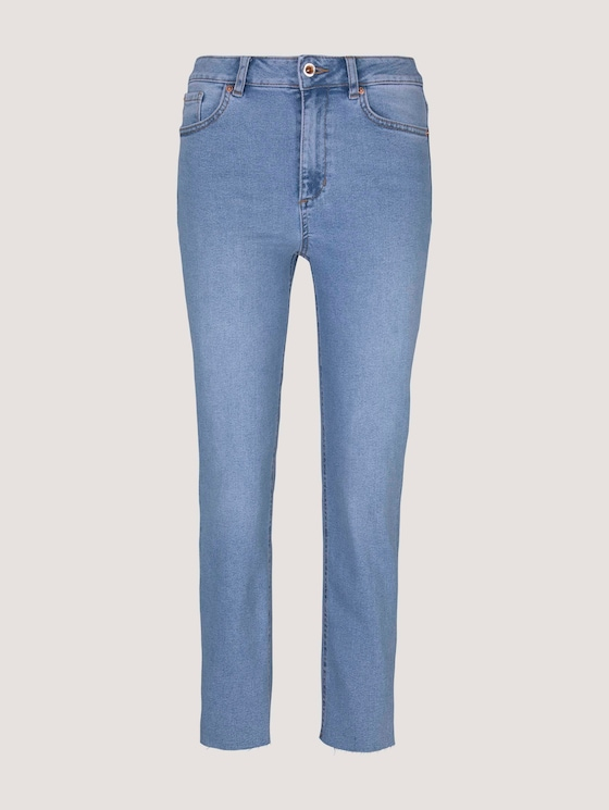Alexa Straight Jeans - Frauen - light stone wash denim - 7 - Mine to five