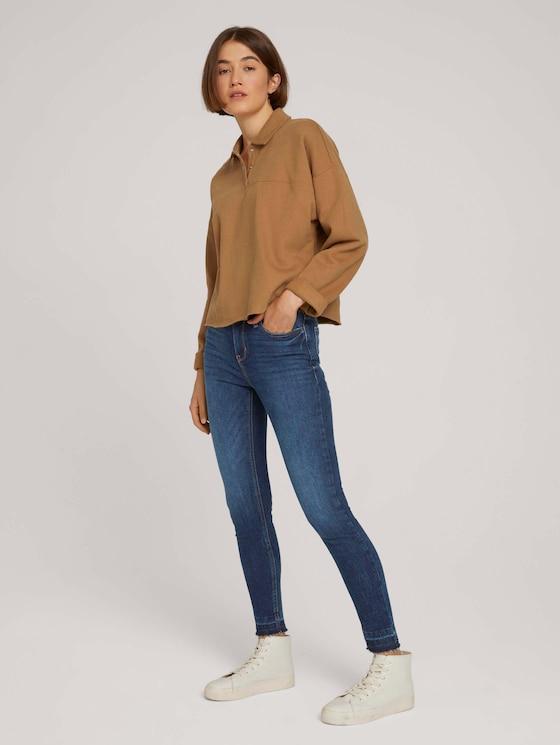 Nela extra skinny jeans with organic cotton - Women - Used Dark Stone Blue Denim - 3 - TOM TAILOR Denim