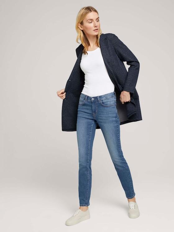 Alexa Slim Stretch Jeans mit Bio-Baumwolle - Frauen - light stone wash denim - 3 - TOM TAILOR