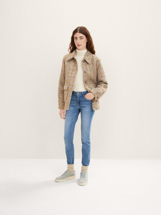 Alexa Skinny Jeans - Frauen - mid stone wash denim - 3 - TOM TAILOR