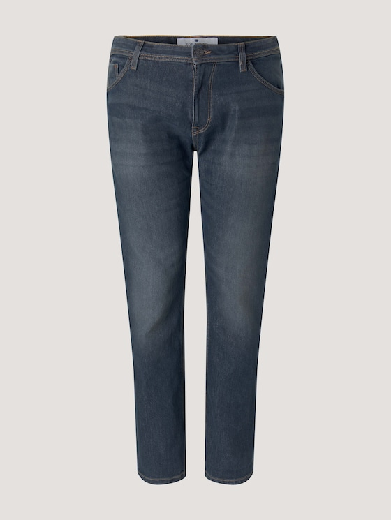 Slim Jeans - Männer - mid stone wash denim - 7 - Men Plus