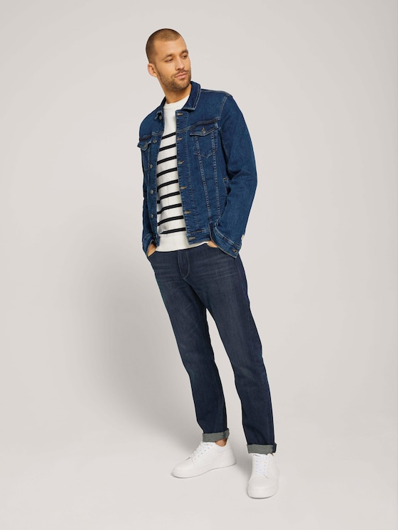 Trad Relaxed Jeans - Männer - dark stone wash denim - 3 - TOM TAILOR