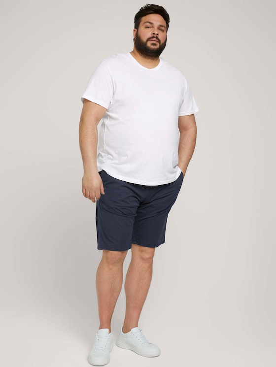 Slim Chino Shorts - Männer - Dark Blue - 3 - Men Plus