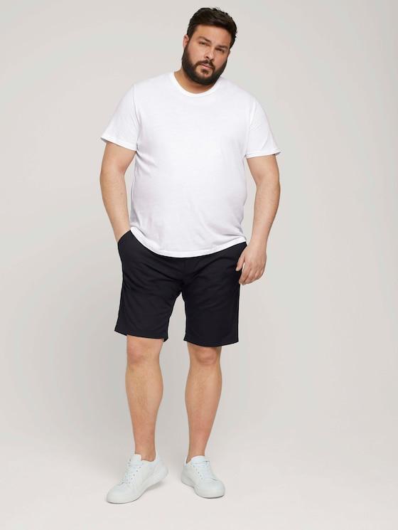 Slim Chino Shorts - Männer - Black - 3 - Men Plus