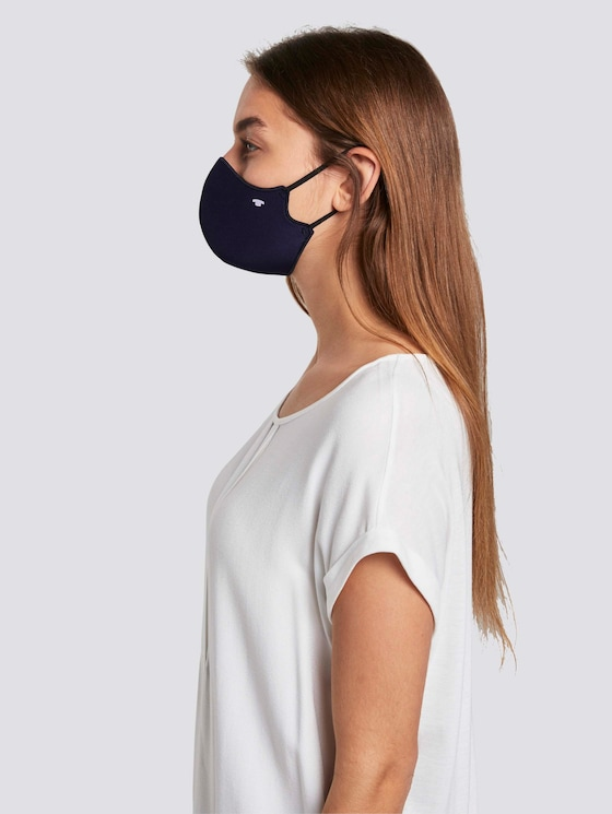 Stoffmaske im Doppelpack - Männer - Sky Captain Blue - 5 - Tom Tailor E-Shop Kollektion