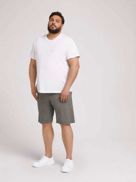 Josh Regular Slim Shorts - Männer - Castlerock Grey - 3 - Men Plus