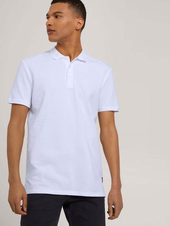 Poloshirt im Doppelpack - Männer - White - 5 - TOM TAILOR Denim