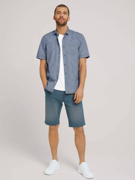 Josh Regular Slim Jeansshorts - Männer - mid stone blue grey denim - 3 - TOM TAILOR
