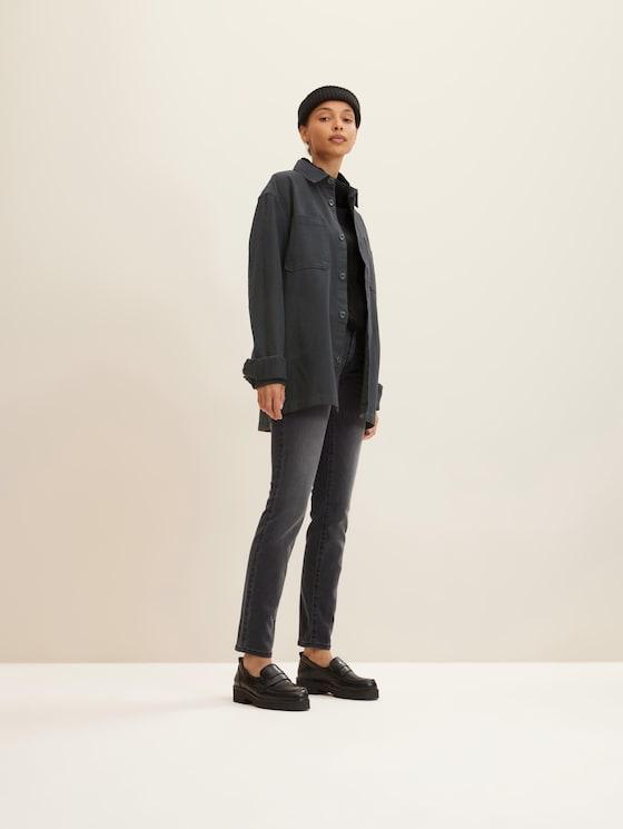Alexa Slim-jeans - Vrouwen - grey denim - 3 - TOM TAILOR