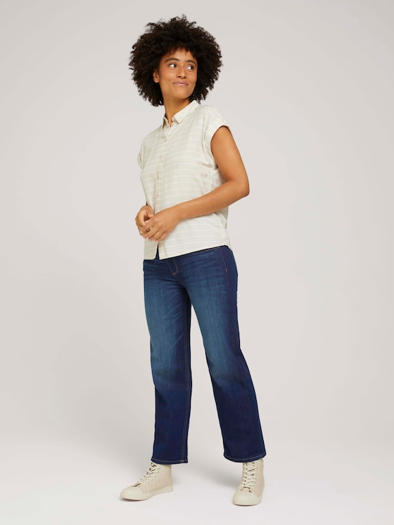 Kate Straight-jeans - Vrouwen - dark blue denim - 3 - TOM TAILOR