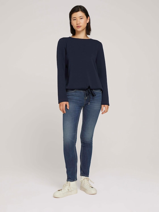 Alexa slim jeans - Women - Used Mid Stone Blue Denim - 3 - TOM TAILOR