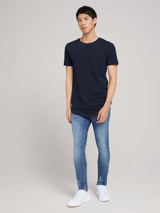 skinny Culver jeans - Men - Used Light Stone Blue Denim - 3 - TOM TAILOR Denim