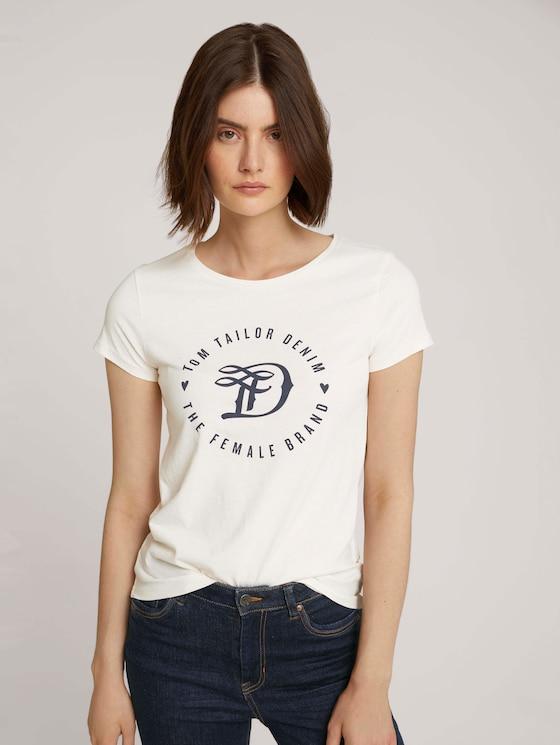 T-shirt met print in dubbele verpakking - Vrouwen - Real Navy Blue - 5 - TOM TAILOR Denim