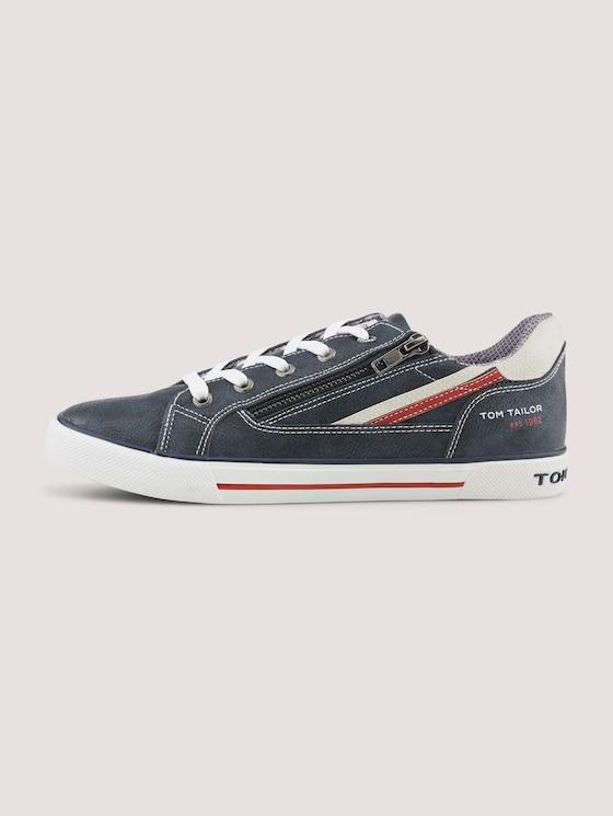 Sneaker mit Farbakzenten - unisex - navy - 7 - TOM TAILOR