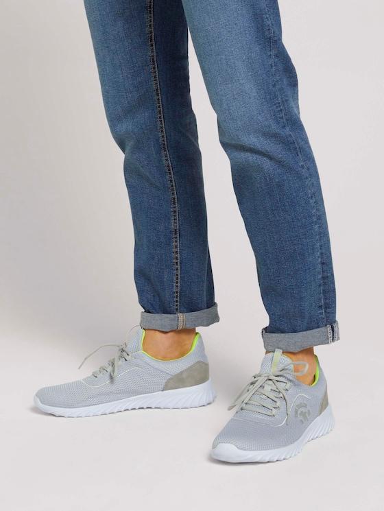 Strukturierte Sneaker - Männer - lt.grey - 5 - TOM TAILOR
