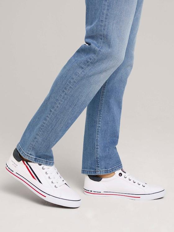Sneaker mit seitlichen Streifen - Männer - white - 5 - TOM TAILOR