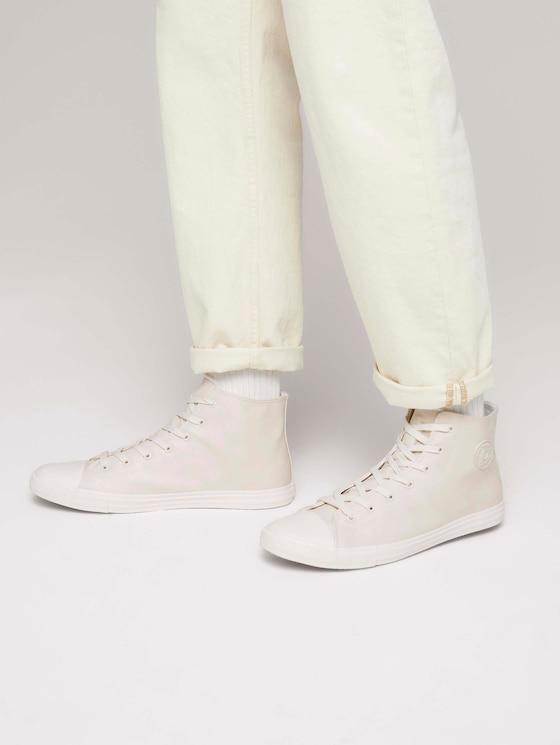 Basic High Top Sneaker - Männer - offwhite - 5 - TOM TAILOR Denim