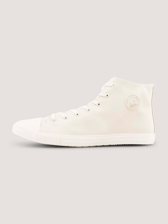 Basic High Top Sneaker - Männer - offwhite - 7 - TOM TAILOR Denim
