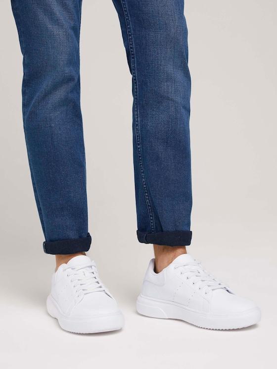 Basic Sneaker - Männer - white - 5 - TOM TAILOR