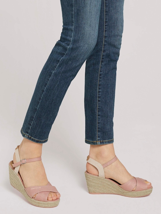 Sandaletten mit Keilabsatz - Frauen - rose - 5 - TOM TAILOR