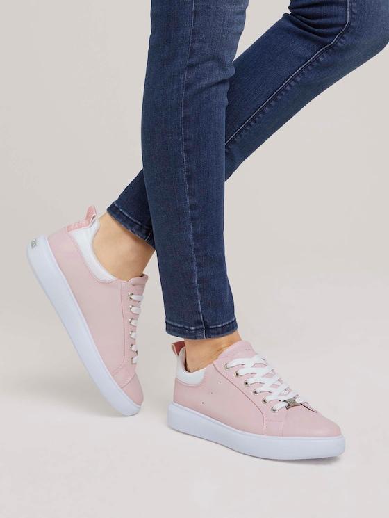 schlichte Sneaker - Frauen - flieder - 5 - TOM TAILOR