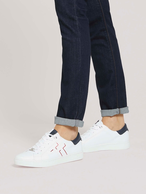 Sneaker mit Logo - Frauen - white - 5 - TOM TAILOR