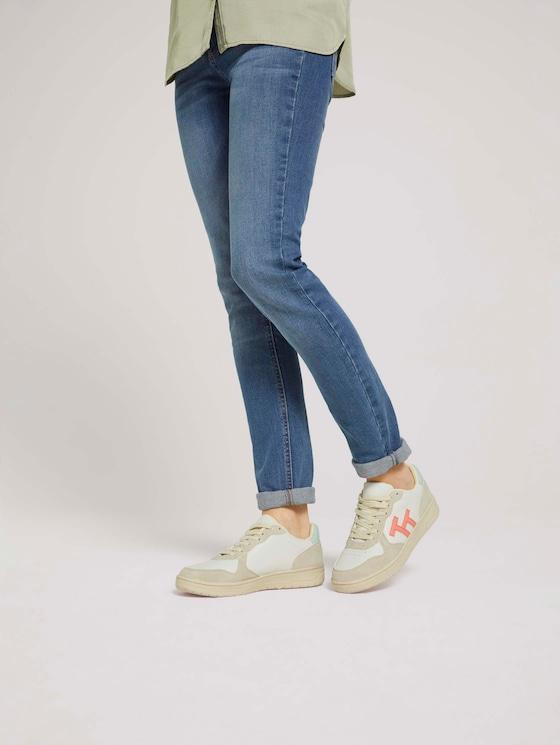 Sneaker mit Logo - Frauen - offwhite - 5 - TOM TAILOR