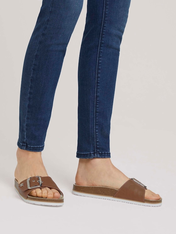 Sandale mit Schnalle - Frauen - camel - 5 - TOM TAILOR