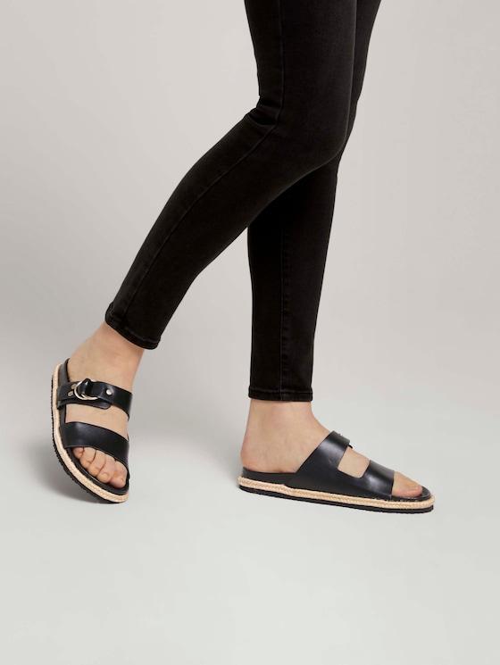 flache Sandale - Frauen - black - 5 - TOM TAILOR