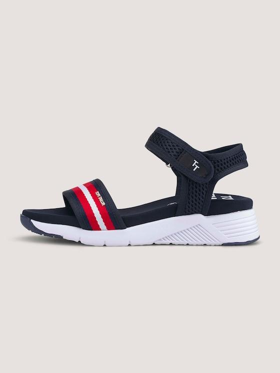 Sandalen met klittenband