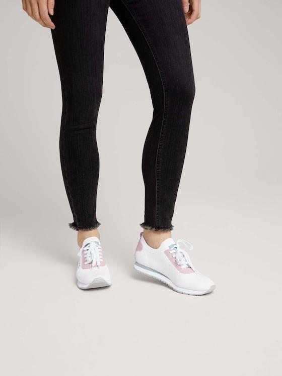 Sneaker mit Logo - Frauen - white - 5 - TOM TAILOR Denim