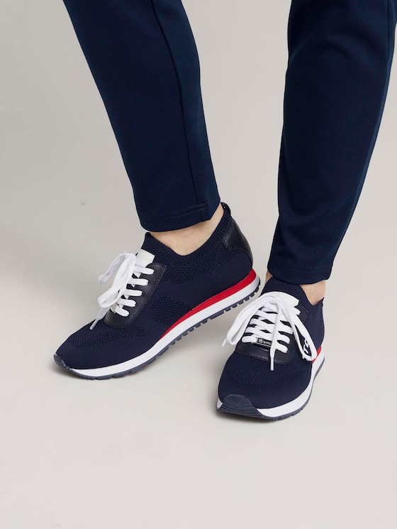 Sneaker mit Logo - Frauen - navy - 5 - TOM TAILOR Denim