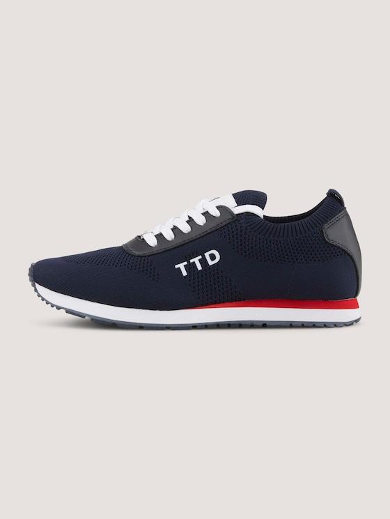 Sneaker mit Logo - Frauen - navy - 7 - TOM TAILOR Denim