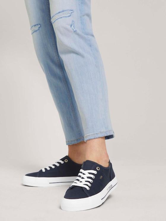 schlichter Sneaker - Frauen - navy - 5 - TOM TAILOR Denim