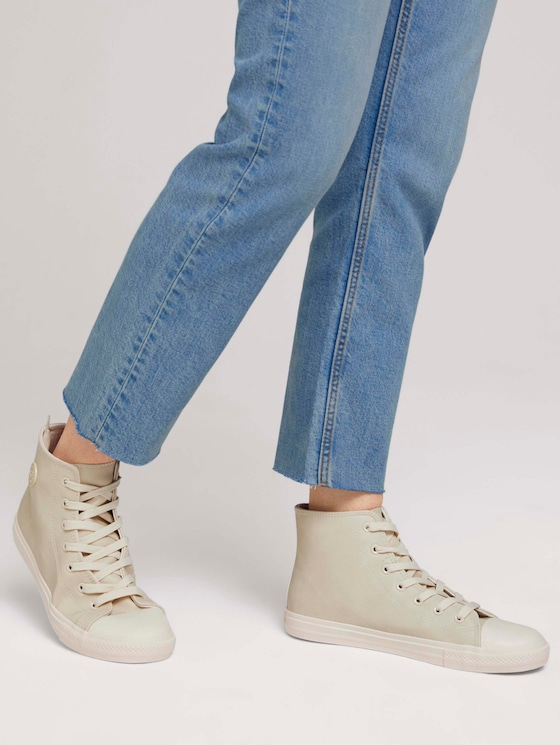 hohe Sneaker - Frauen - offwhite - 5 - TOM TAILOR Denim