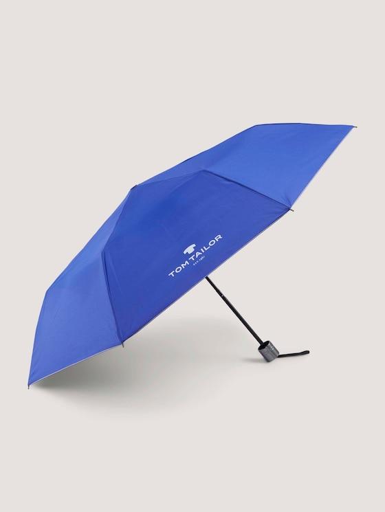 Extra kleiner Regenschirm - unisex - anemone blue - 7 - TOM TAILOR